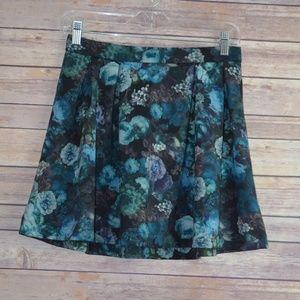 Express Floral Print Skirt